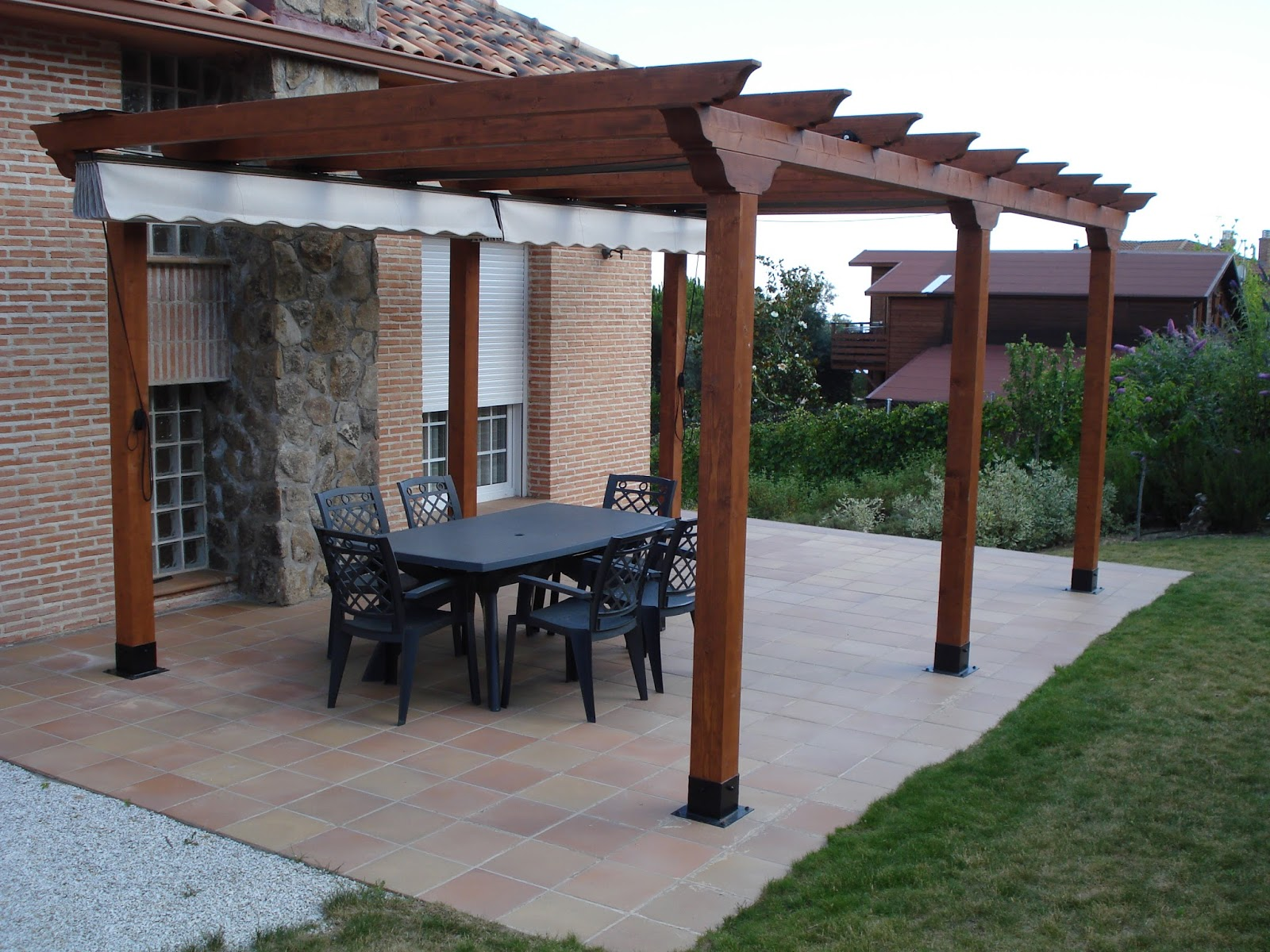 Pergola Para Jardin Jardins Pergola De Jardin Leroy Merlin Luxury - Jardines-con-pergolas