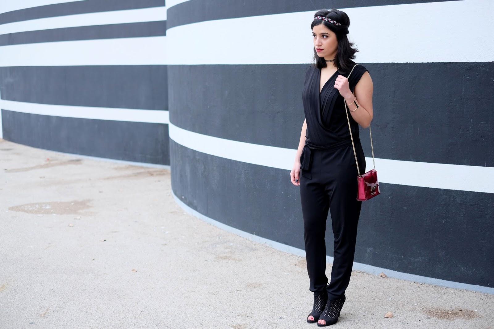le dernier 0b505 472a5 LookDeFête | La combinaison noire | Ameni Daily - Blog Mode ...