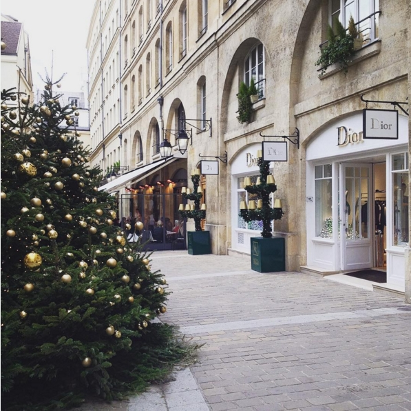 Paris in December
