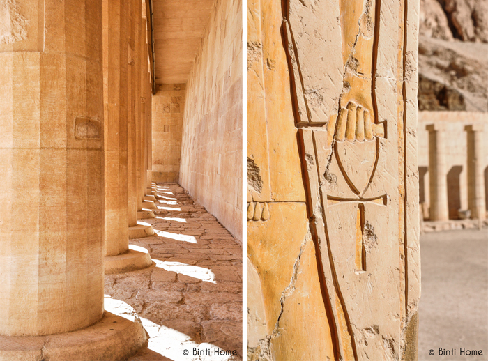 tempels Luxor en Aswan - Binti Home