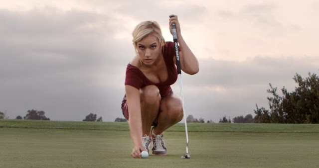 Amenazan a la golfista más sexi por su forma de vestir