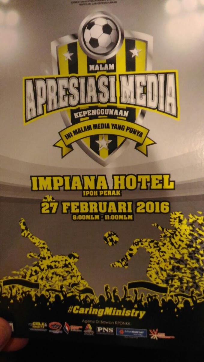 Malam Apresiasi Media KPDNKK Bersama Media Perak