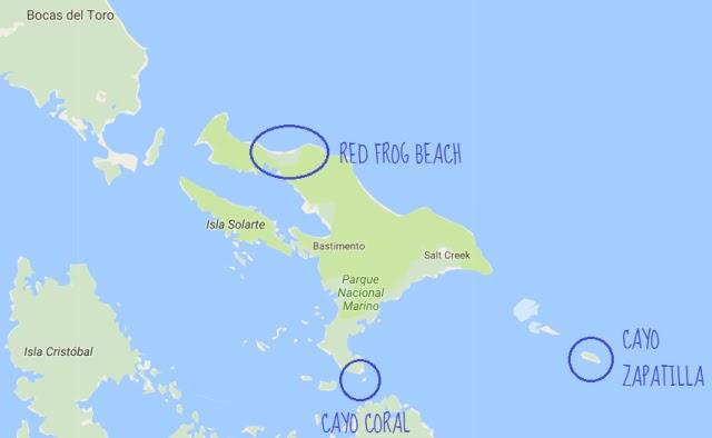 Excursión en Bocas del Toro hasta Cayo Coral y Cayo Zapatilla