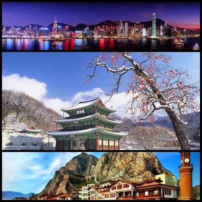 Paket Tour Tahun Baru 2014 ke Korea, Turki, Hongkong, Shenzhen, Macau