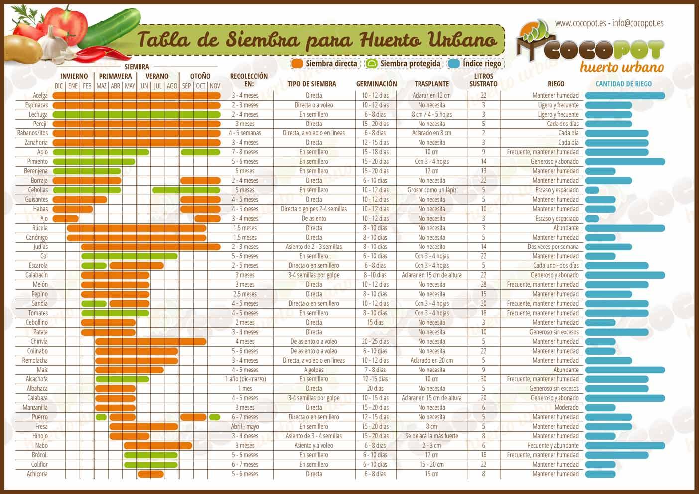 Huerto y maceto huerto ecol gico guia y planificaci n de for Produccion de plantas ornamentales pdf