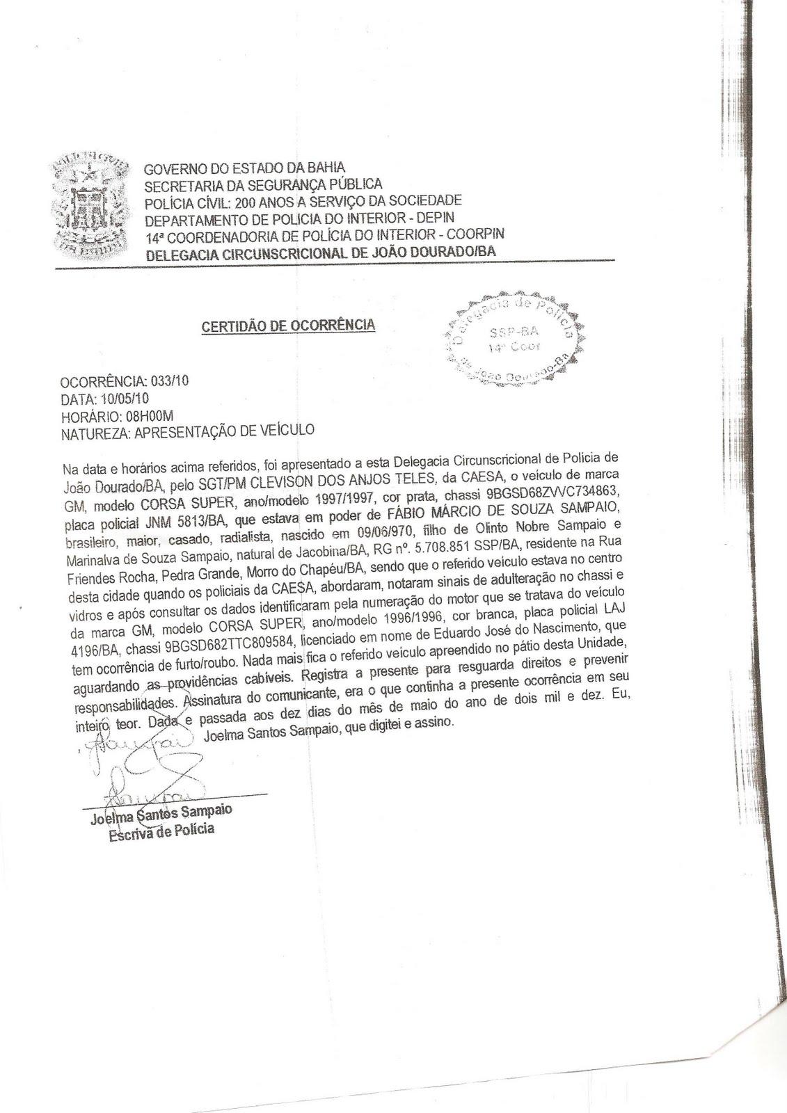 Image result for BANDIDO BOM É BANDIDO MORTO assim declara ribeiro sousa blog morro noticias sem censura