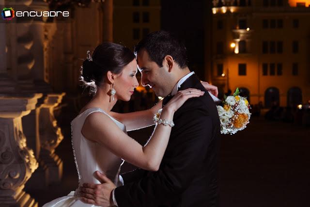 fotos boda catedral de lima