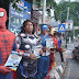 "Satlantas Polres Gresik Gandeng ""Avengers "" Gelorakan Sosialisasi Millennial Road Safety Festival"