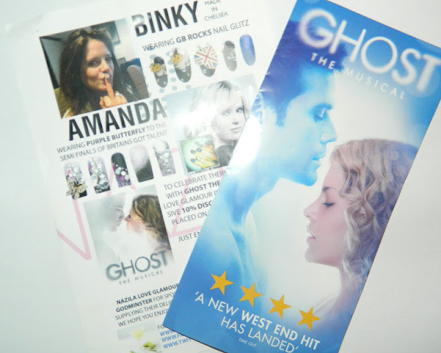 nazila love glamour in association with ghost the musical