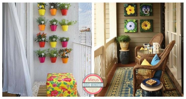 ideis para decorar varanda
