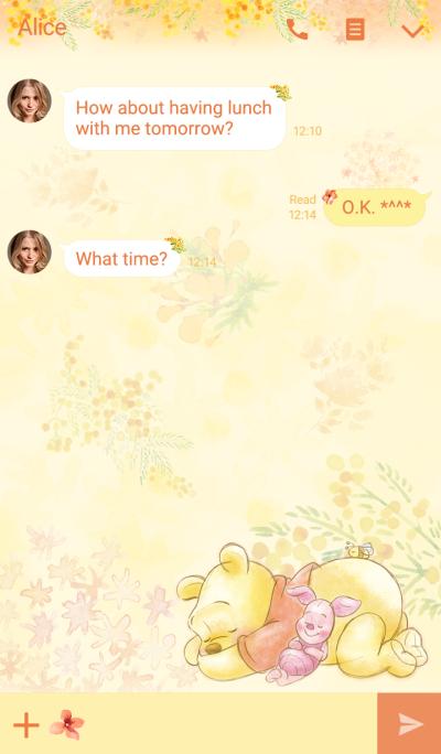 곰돌이 푸: 플라워 테마