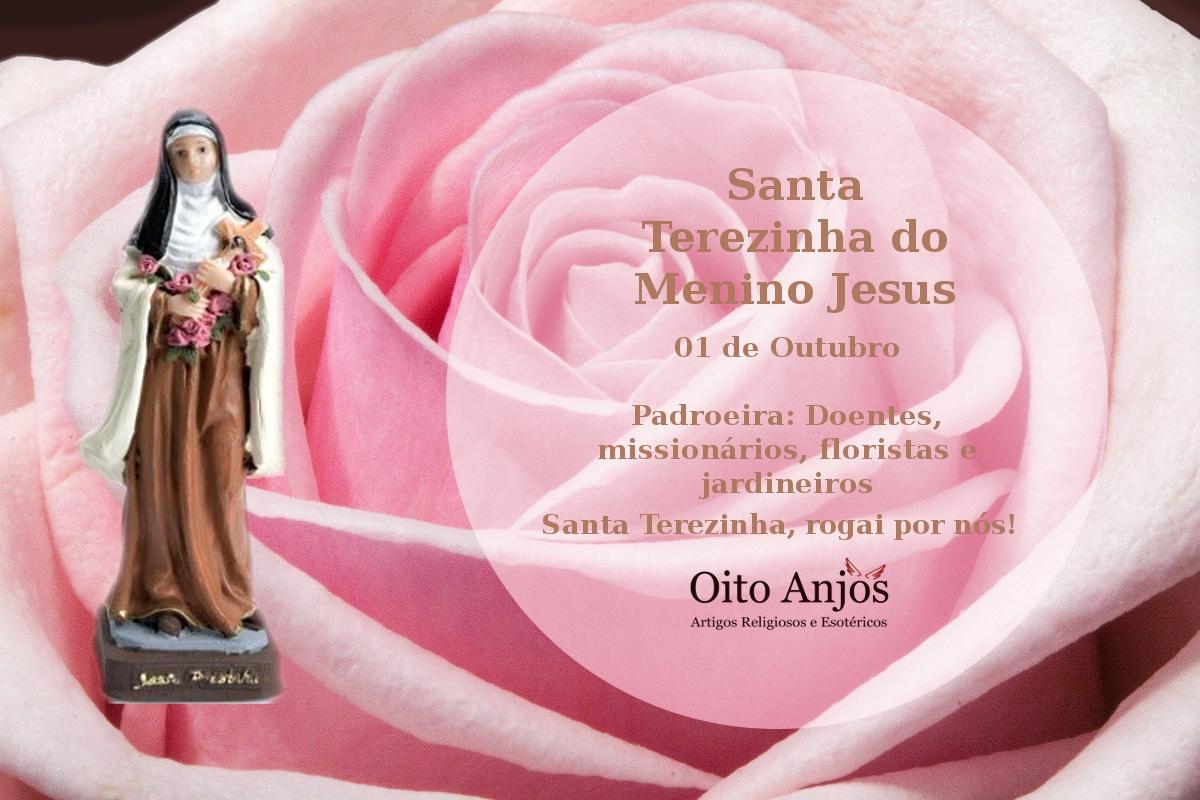 Dia Santa Terezinha: 01 de Outubro