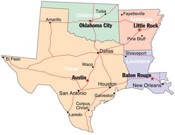 Map Of Texas Oklahoma And Louisiana.Map Of Texas Arkansas Oklahoma And Louisiana Business Ideas 2013