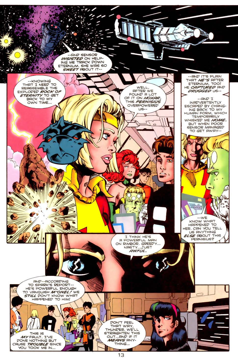 Legion of Super-Heroes (1989) 117 Page 13