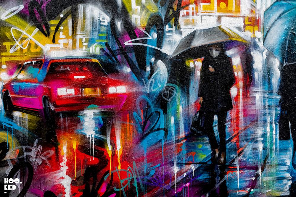 Street Artist Dan Kitchener new London mural