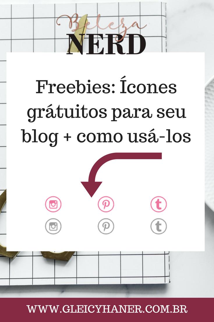 icones sociais para blog