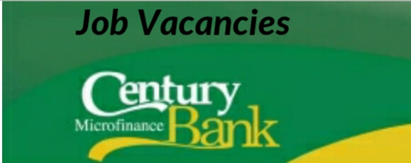 Century Bank vacancies 2019