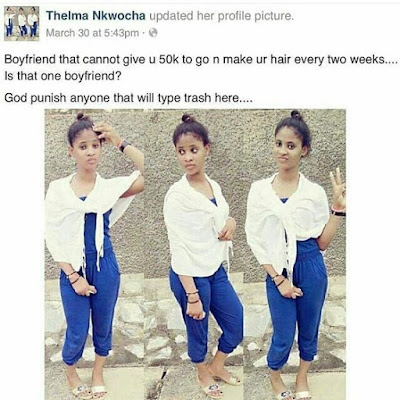 Check Out What This Lady Posted About Nigerian Boyfriends