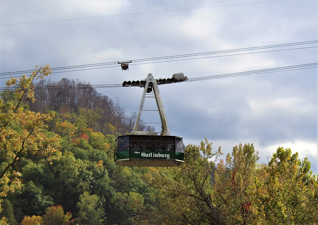 Ober Gatlinburg areal tram