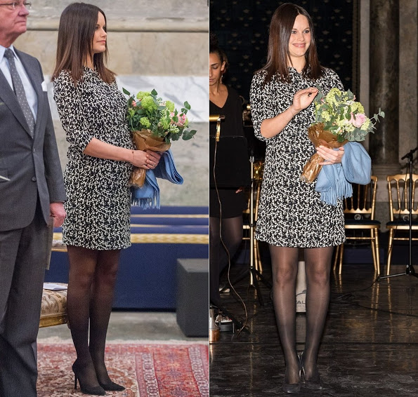 King Carl Gustaf, Queen Silvia, Princess Sofia At The Palace Festival