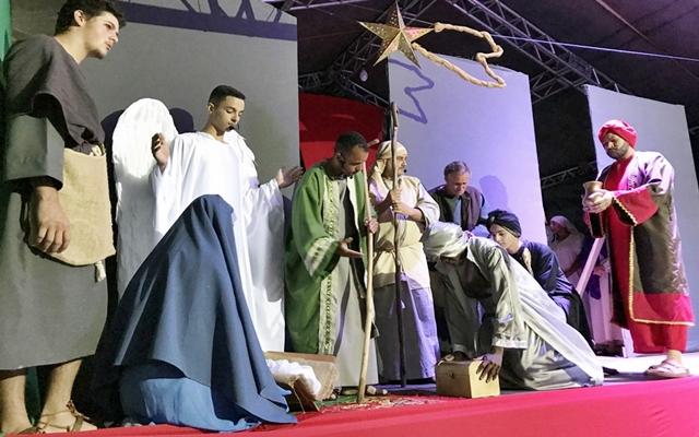 Nascimento de Jesus é interpretado em Auto de Natal, em Trajano de Moraes