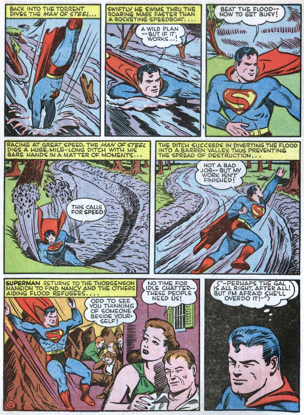 Read online Action Comics (1938) comic -  Issue #40 - 14