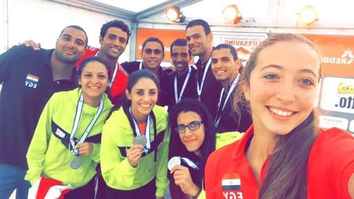 أبطال منتخب مصر للانقاذ يحصدون الذهبيه والفضيه ببطولة العالم بهولندا