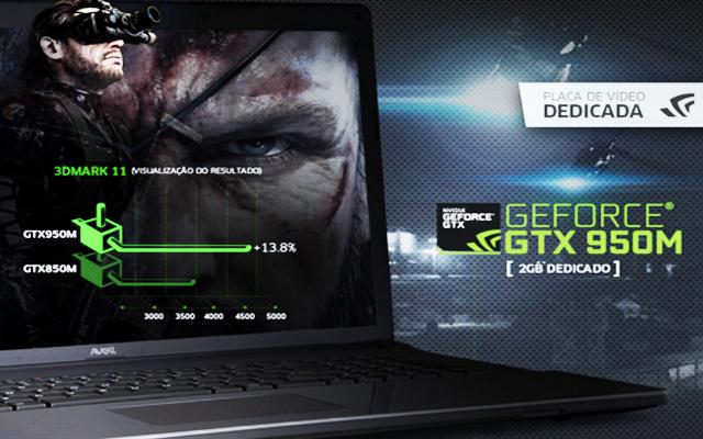 Notebook gamer com bom custo beneficio