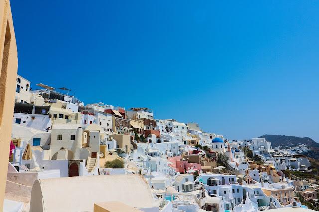 Santoryn, Grecja, podróże