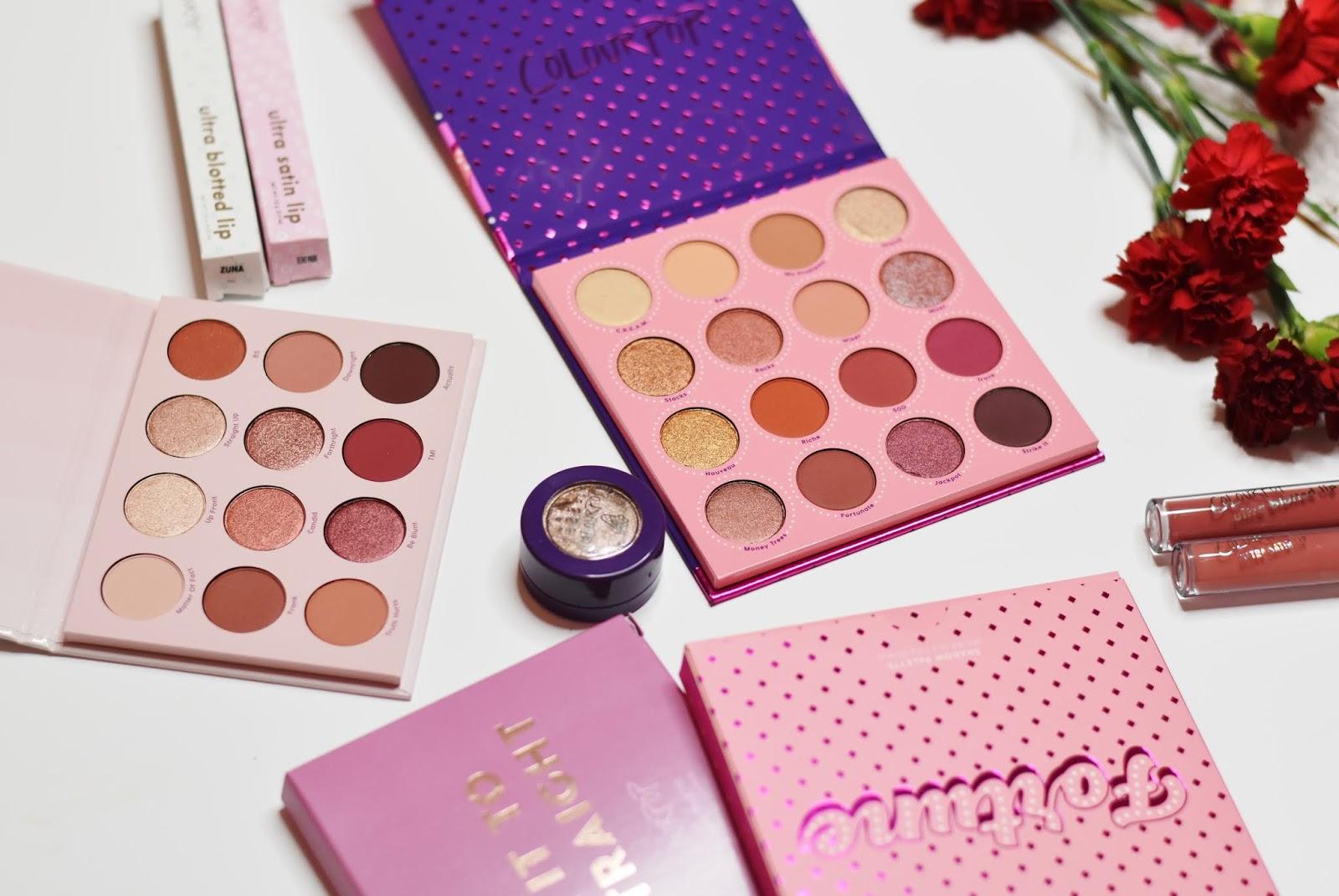 Zamówienie z Colourpop | Pierwsza paczka z USA