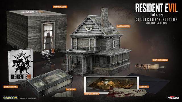 La edición coleccionista americana de Resident Evil 7 sí incluye el juego 1