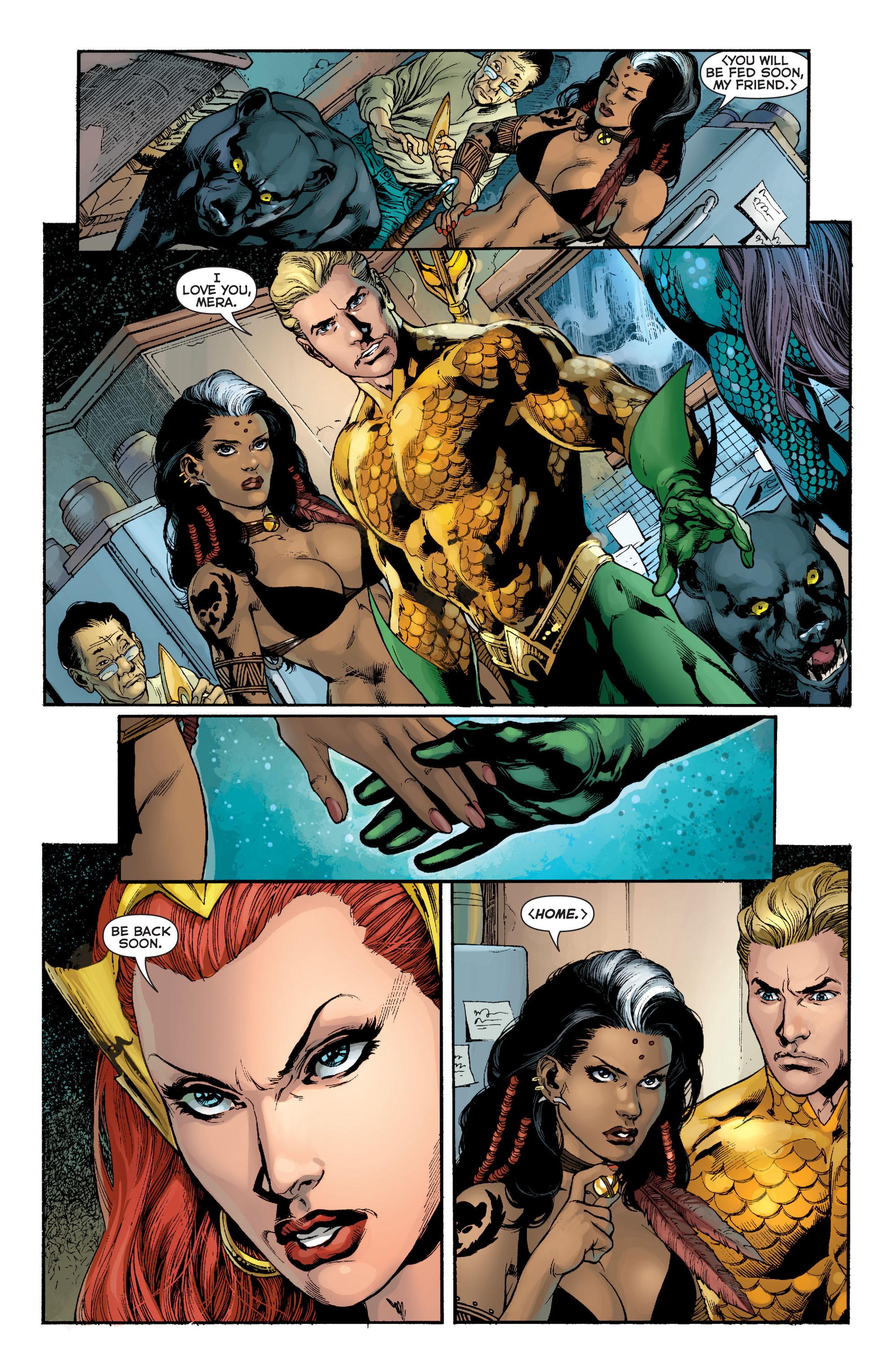Read online Aquaman (2011) comic -  Issue #8 - 12