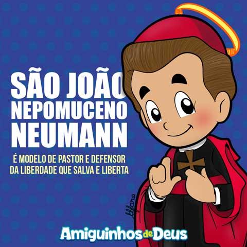 São João Nepomuceno Neumann desenho