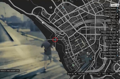 GTA 5, Human Locations, Jesse
