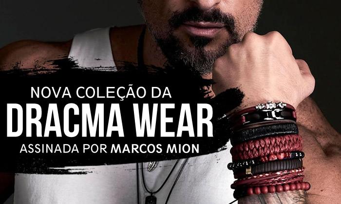 Pulseiras Masculina Dracma Marcos Mion