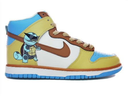 Pokemon Squirtle Nike Shoes