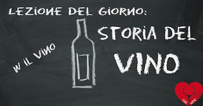 storia del vino a scuola