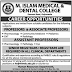 M. Islam Medical And Dental College Gujranwala Jobs