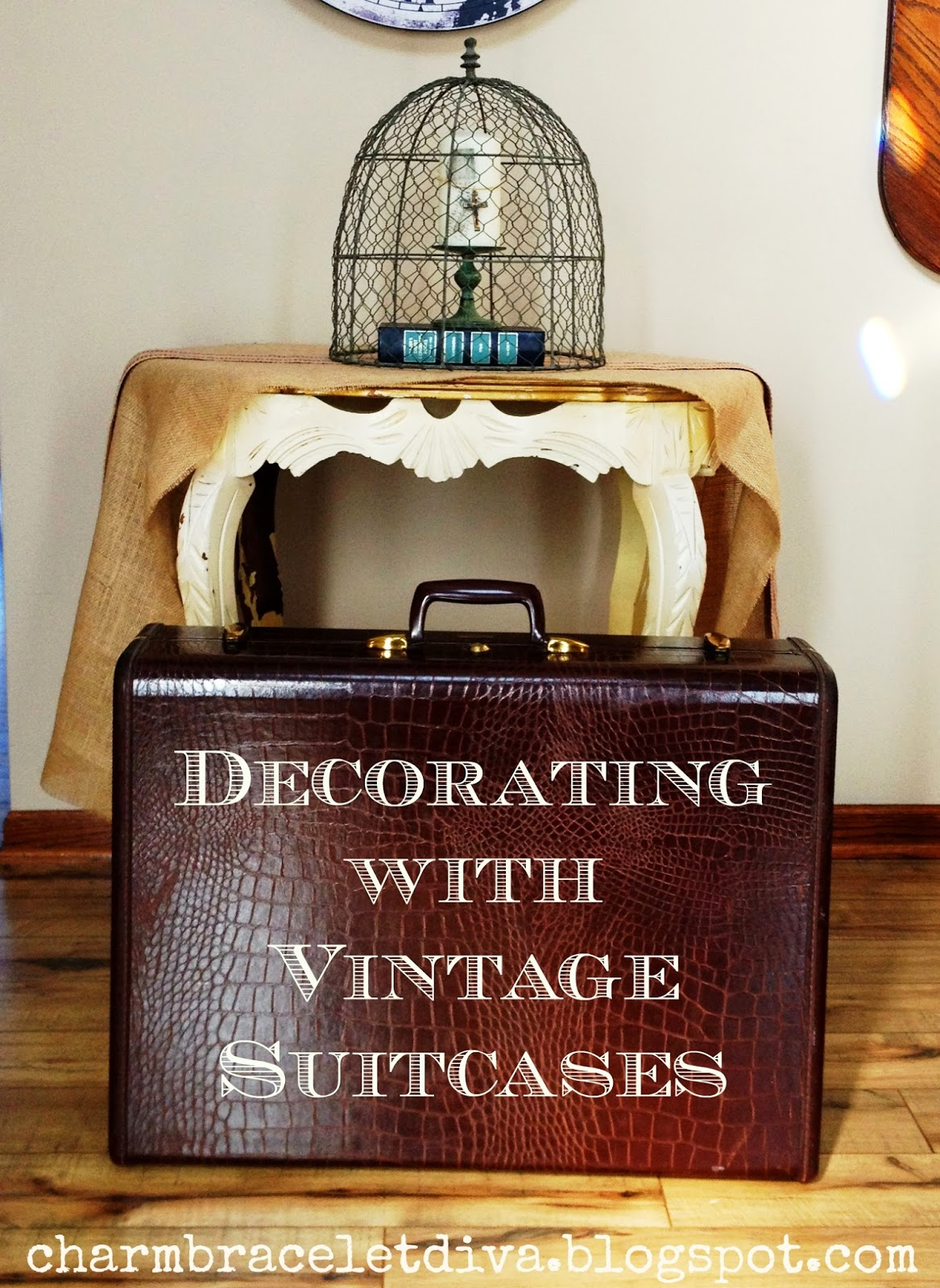 Vintage Decorative Suitcases Our Hopeful Home Decorating With Vintage Suitcases