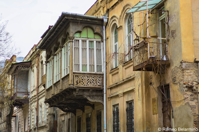 Old Tbilisi Balconies Walking Tour Georgia