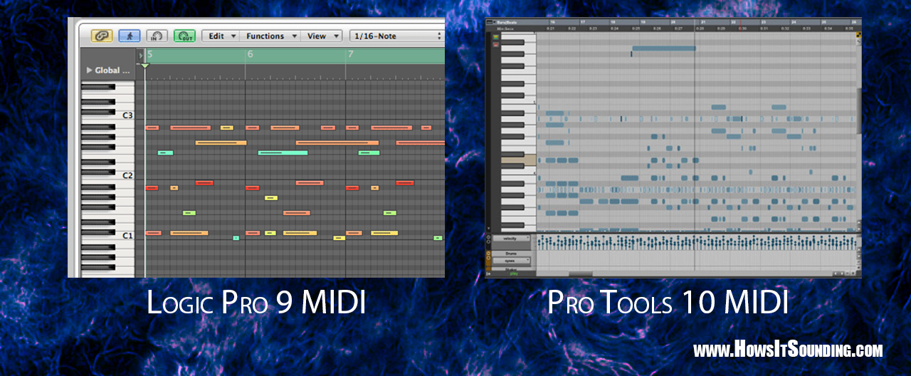 How's It Sounding?: Logic VS Pro Tools: Who Do You Give Your Money To?