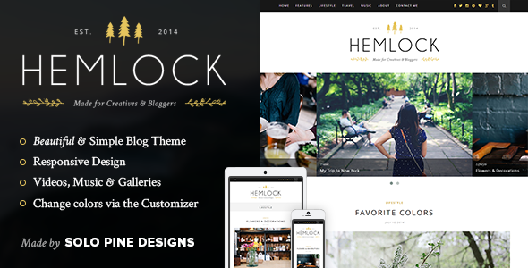 Hemlock WordPress Theme Free Download