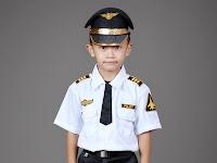Baju Polisi Anak Perempuan
