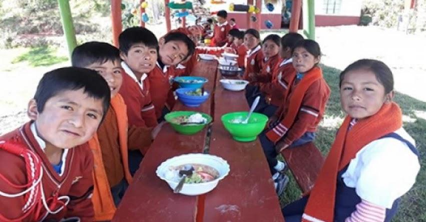 QALI WARMA: Más de 5 mil alumnos de Jornada Escolar Completa continuarán recibiendo desayunos y almuerzos del programa social - www.qaliwarma.gob.pe