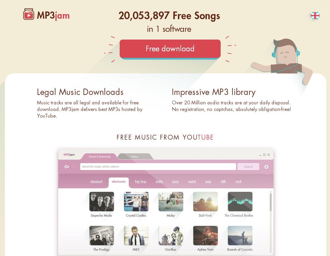 Phone Transfer Software: MP3Jam Free Music Downloader