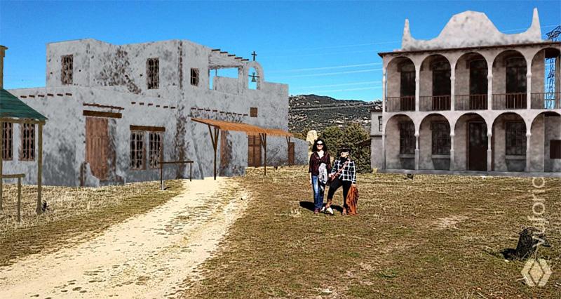 Cosas De Hoyo Visita Con Realidad Aumentada Los Antiguos Decorados De Cine Del Oeste En Hoyo De Manzanares