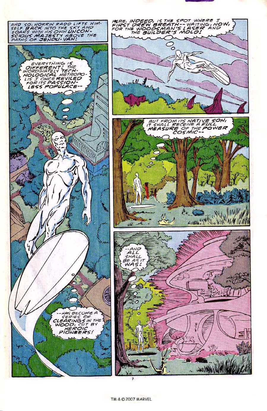 Read online Silver Surfer (1987) comic -  Issue #2 - 11