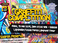 Yuk Ikut Graffiti Competition di Lampung Timur, Buruan Daftar!