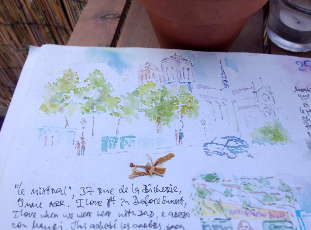 Notre-Dame-Watercolor
