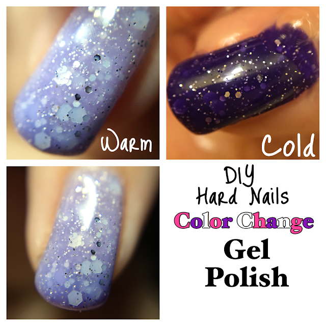 Ice queen DIY hard nails